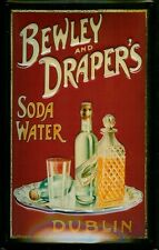Bewley and Drapers Soda Water Blechschild Tin Sign 3D geprägt gewölbt 20 x 30 cm