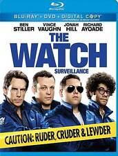 THE WATCH/Ben Stiller/NEW 2 DISC BLU-RAY+DVD+DIGITAL CY/BUY ANY 4 SHIP FREE