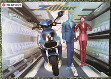 SUZUKI ZILLION 50CC MOPED SALES BROCHURE 1998