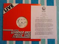 XTC The Skylarking Interview w/ Andy Partridge LP WHITE LABEL PROMO Geffen 1986