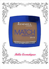 Rimmel Match Perfection Cream Compact Foundation 7g Soft Beige 200
