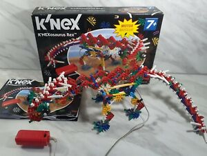 K'Nex K'Nexosaurus Rex Motorised Dinosaur Model Boxed + Instructions Complete