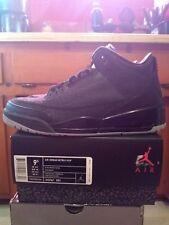 Jordan 3 Black Flip Size 9.5 DS With Receipt
