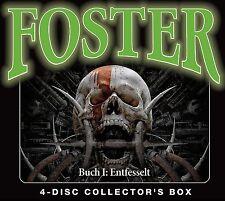 OLIVER DÖRING - FOSTER BOX 1-BUCH 1 : ENTFESSELT (FOLGE 1-4)  4 CD NEU