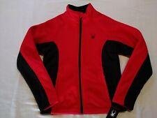 Spyder  Mens  Steller Sherpa Lined Jacket  Full Zip  Racing Red  Small  NWT$169