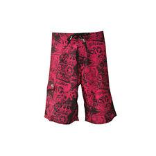 Notion Clothing Boardshorts Grave Robber Black Hot Pink Surf Swim trunks Size 32