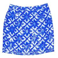 Portmans Blue Sequin Womens Short A-Line Skirt Size 8