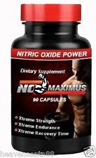 NO Maximus - Nitric Oxide NITRO Muscle Mass BIG POWER Endurance Growth 90 ct