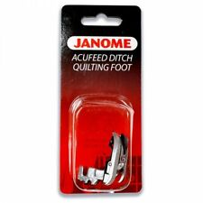 Janome AcuFeed Ditch Quilting Foot - Perfect for Patchwork MC 6600P 7700 Horizon