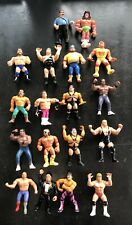 WWF WWE WCW- Wrestling Action Figures LOT   1990s Vintage Classic