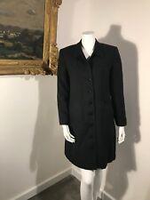 Kasper A.S.L. Grey Pinstripe Dress SZ 6 Pocketed Buttondown ASL