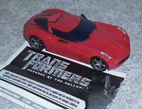 Transformers Revenge of the Fallen Swerve Complete ROTF Legends Sideswipe Repain