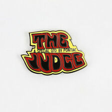 Pontiac GTO The Judge logo US muscle car Button ha pin spilla spilla