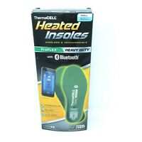 Thermacell Proflex Heavy Duty Heated Small Shoe Insoles Bluetooth Womans 5 6