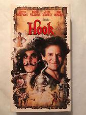 HOOK, ROBIN WILLIAMS, DUSTIN HOFFMAN, JULIA ROBERTS, BOB HASKINS, VHS