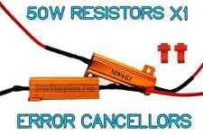 1x 50w carga resistencias para señal indicadores libre de errores indicador de flash Adaptadores