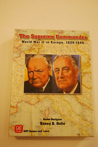 The Supreme Commander, WWII in Europe, GMT Games