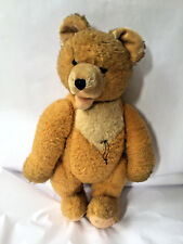 Large Steiff Zotty Golden Mohair Teddy Bear Straw 18'' No id tag Hermann Fechter
