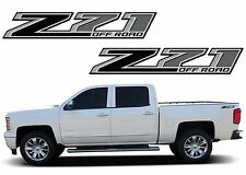 Pair Black Z71 Decals For 2014-2017 Silverado Sierra New Free Shipping USA