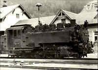 DDR Sammelbild Foto-AK Dampflokomotive Eisenbahn Schmalspur Lok Baureihe Typ 99