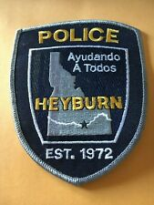 Heyburn Idaho Police patch