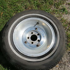 Vintage 1977 78 79 OEM Factory  Lincoln Versaille  A P A I R  of Alum Wheel Rims