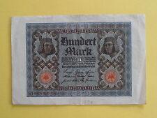 Billet de 100 mark Allemagne