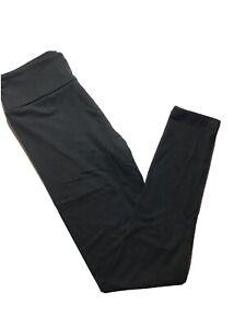 Tween LuLaRoe Solid Black Leggings Kids 12 to 00 New