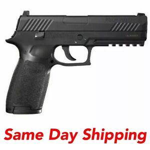 SIG Sauer P320 Black .177 CAL CO2 Pistol w/ Metal Slide, AIR-P320-177-30R-BLK