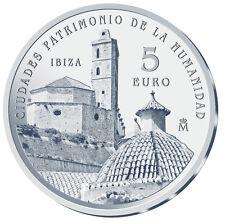 ESPAÑA 5 euro plata 2015 IBIZA Ciudades Patrimonio de la Humanidad II Serie