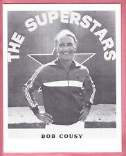 1977  THE SUPERSTARS   BOB COUSY   8  X 10   PHOTO