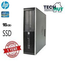 HP 8300 Elite SFF, i7-3770, 16GB RAM, 128SSD, WIN 1 Pro, 1 YEAR WARRANTY