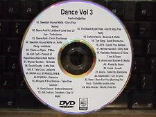 DANCE CLUB VOL 3 MUSIC VIDEO DVD SWEDISH HOUSE MAFIA STEVE AOKI AVICII KID CUDI