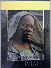 Juego de Tronos-Temporada 5: oro paralelo: tarjeta base 80 Hombre Sin Rostro - #030/150