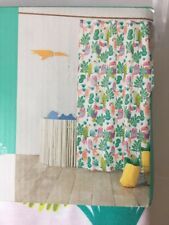 Fabric Shower Curtain Parakeet Paradise Bright Fern Pillowfort 72x72