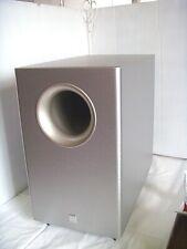 Canton Aktiv Subwoofer CD 1 SC silber Topp Zustand optisch & technisch wie NEU