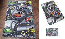 Disney Pixar Race Cars Track Children Play Mat Non-Slip Kids Rug Runner 80x120CM