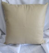 Beautiful Quality Nettex Quarter Stone Faux Leather Look Cushion Cover SALE
