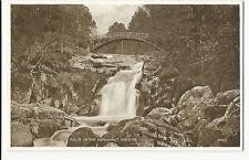 Scotland - Balmoral, Falls of Garbh Allt/Garrawalt - Vintage Valentine's PPC