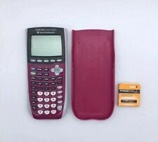 Texas Instruments Ti-84 Plus Silver Edition Graphing Calculator Purple - D02