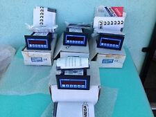 LOT OF 4 NEW, OMEGA DP-F78-A 110V FLOW CONTROL BATCH RATE METER