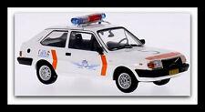 "wonderful modelcar  VOLVO 343 1981 ""RIJKSPOLITIE SCHIPHOL"" - white - scale 1/43"