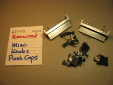 KENWOOD MISC KNOBS AND PRESET TABS KT-413 KT-4133 STEREO TUNER
