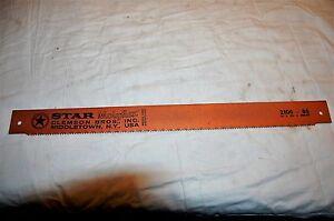 "Star Molyflex Power Metal Hack Saw Blade 21""X1-3/4""X.088/6T 2106-86"