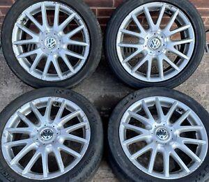 Volkswagen Golf GT 17 inch Alloy Wheels 5 x 112 Genuine 7J ET54 MK5 MK6