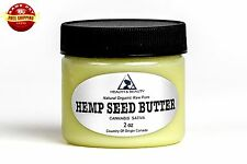 HEMP SEED BUTTER ORGANIC by H&B Oils Center EXPELLER PRESSED PURE 2 OZ
