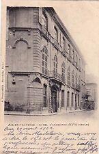AIX-EN-PROVENCE hôtel d'albertas éd dragon timbrée 1902