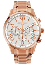 Jorg Gray Womens JG1500-23 White Dial Rose Gold Stainless Steel Band Watch