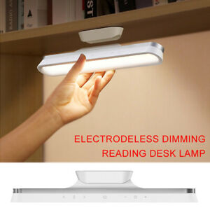 Magnetic absorption color electrodeless dimming rechargeable reading table lamp⭐