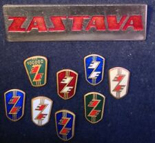 Yugoslavia Pin enamel Zastava Kragujevac automobilia lot of 9 pieces  -18-
